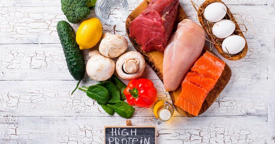 Dieta de proteínas durante la menopausia